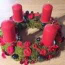 št. 17 mah rdeče sveče modre bunke