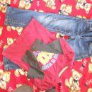 S.oliver elastične  hlače in majčka, 116/122 št., komplet samo 5€