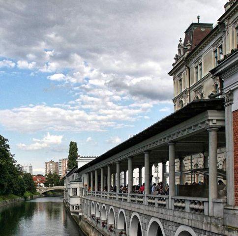 Ljubljana in poletje - foto
