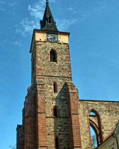 češka: benediktanski samostan v sazavi - foto