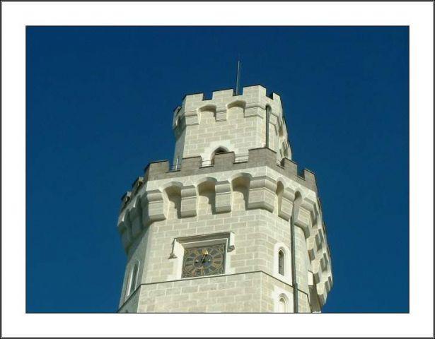 češka: grad hluboka - foto