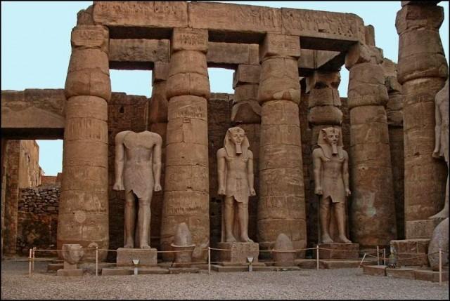 1/5. egipt - luxor tempelj - foto