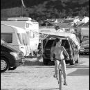 cycling in the camp