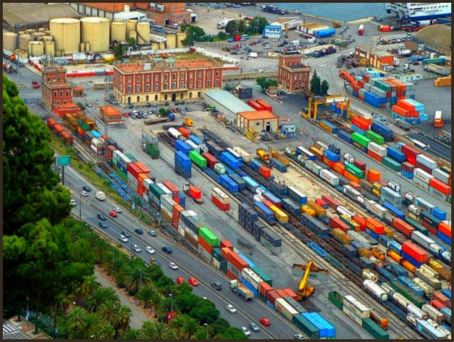 The container terminal