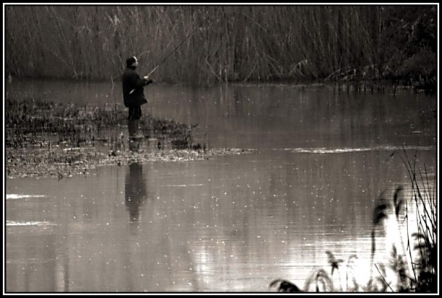 Fishing on the river (2)