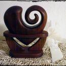 Srce z vitico (na stojalu)