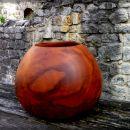 Vaza-posoda za pisala; višina 11 cm, zunanji premer 14 cm (79 €)