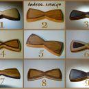 metuljčki B - lepljeni iz različnih vrst lesa (30 €)