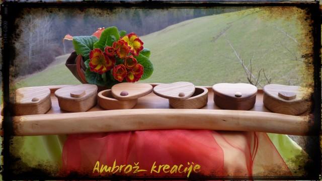 Šatuljica-srček (mala); 20 €