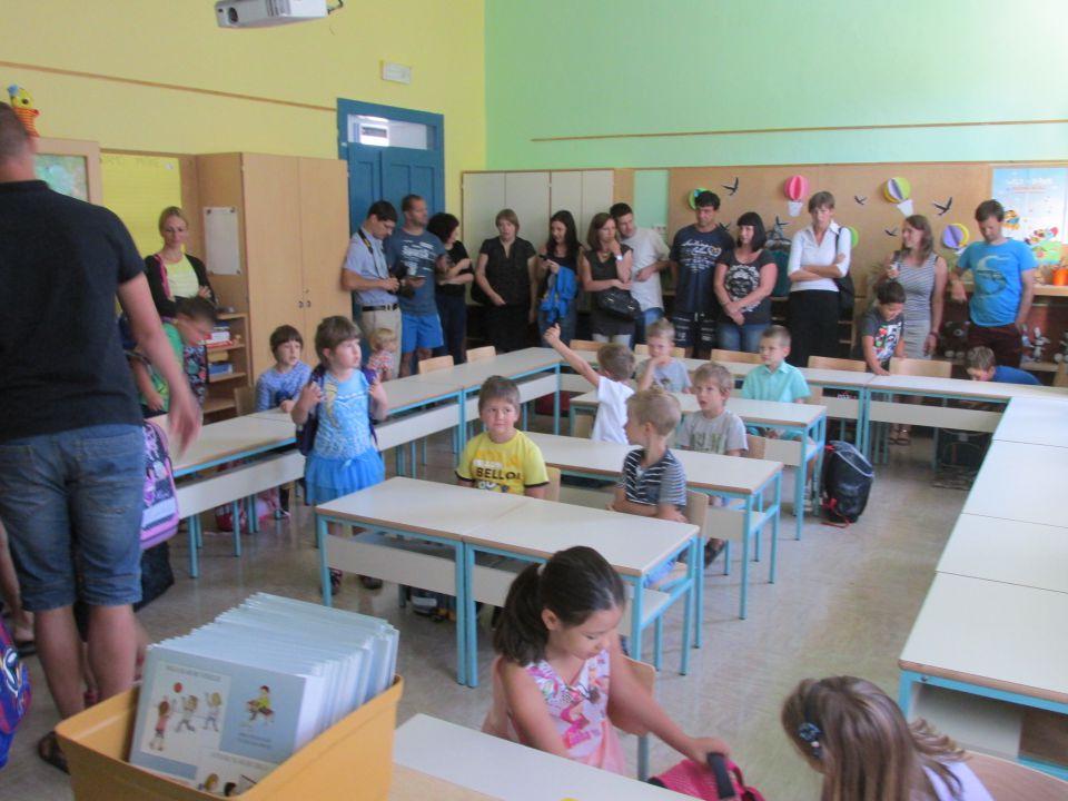 Prvi šolski dan - foto povečava