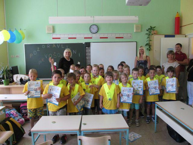 Prvi šolski dan - foto