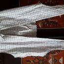 Bombažna črtasta športna bluza