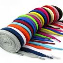 1 Par vezalk dolžine 110cm - več barv, več kosov