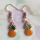Retro posebni uhani Ananas