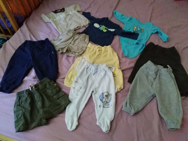 Oblačila za fantka od št:50-80 - foto