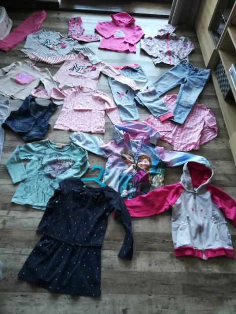 Oblačila za dekico 110 -116 - foto