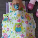 baby born posteljnina