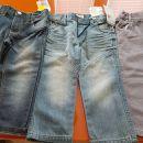 NOVE otroške hlače/kavbojke št.92