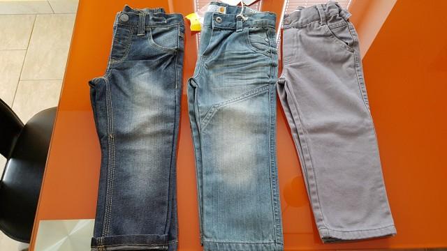 NOVE otroške hlače/kavbojke št.92 - foto