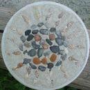 mozaik - sonček (nečakinja 4,5 let)  Če se malčk bolje pogleda, se vidita dve očki, nosek