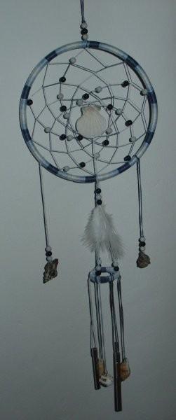 Lovilček, narejen za mobile swap - služi tudi kot vetrolov (20 cm v premeru)