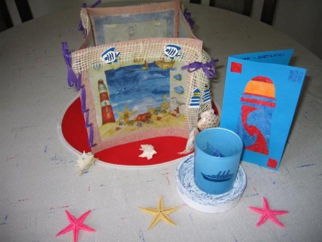 Svetilniki swap - darilo za zvezdo (creapop lučka, čajna lučka, podstavek in voščilnica v