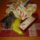 Svilen šal na darilu za 60 RD - Ivanka - julij 2006