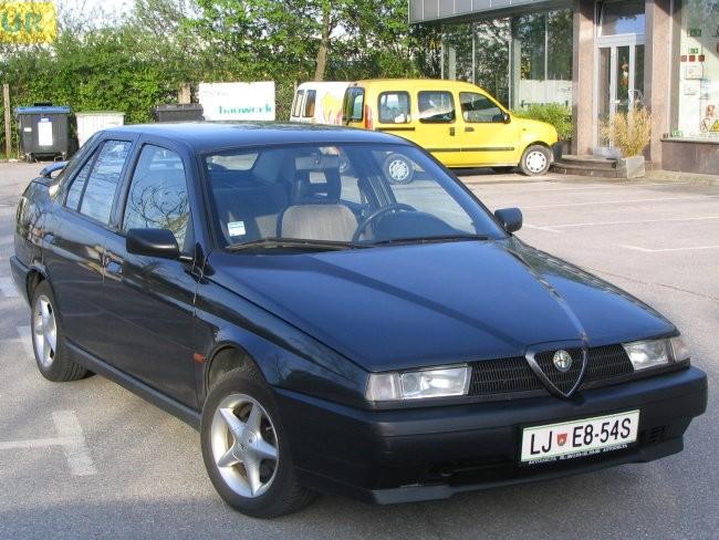 Alfa Romeo 155 1.8 Twin Spark - foto povečava