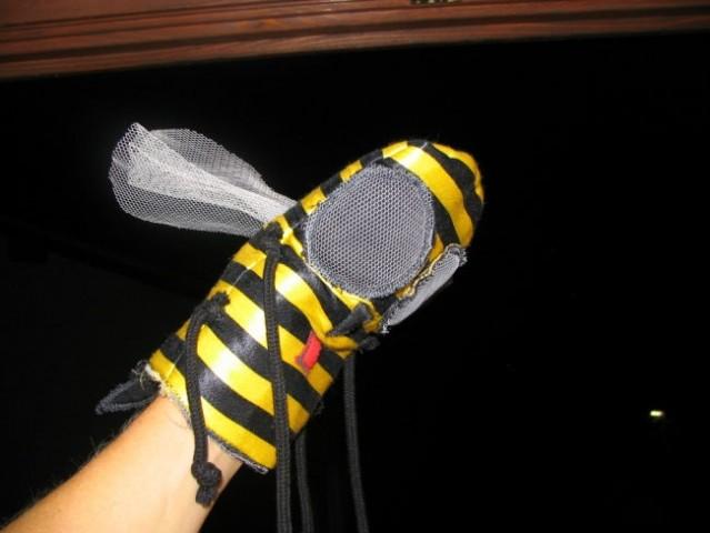 Lutka čebela - hm .. tipalke manjkajo, ja vem:)))