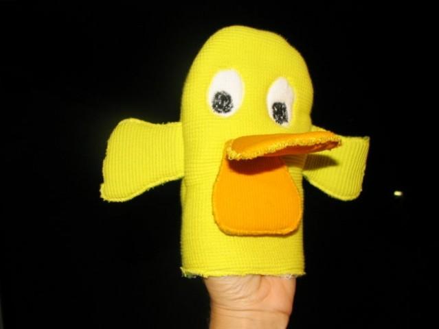 Sem se pa spomnila, da smo tele lutke tudi delale za otroke v vrtcu!