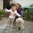 Poziranje z Jenny in nečakinjo Lano 2
