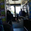 v busu od letalisca do centra