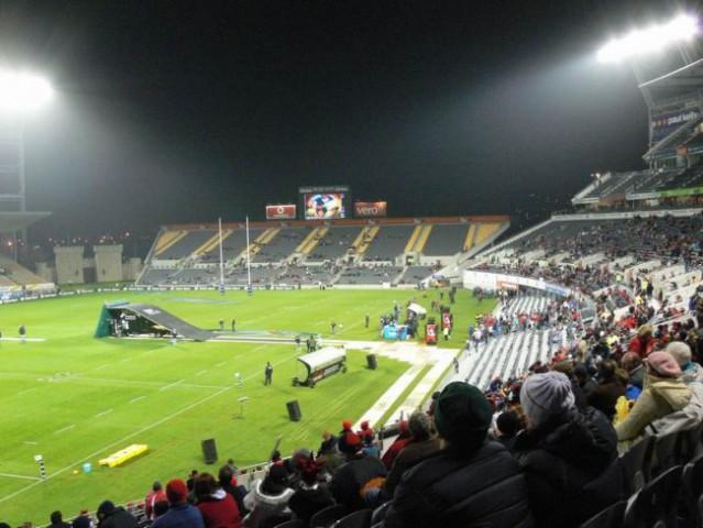 Rugby tekma Crusaders vs. Bulls, polfinale - Jade stadium(CHCH)