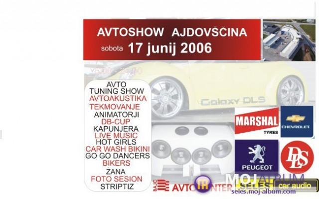 Avtoshow Ajdovščina 17.junij 2006 - foto