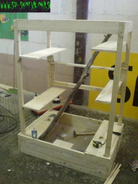 Gradnja kletke - foto