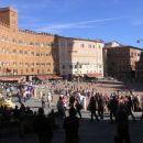 originalno oblikovan trg Piazza del Campo