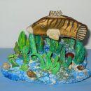 Riba in morsko dno (še nedokončan izdelek)