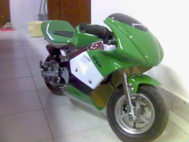 Mali zeleni  - foto