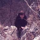 Na Šmarno goro... Plezanje pač ni zame. 1983