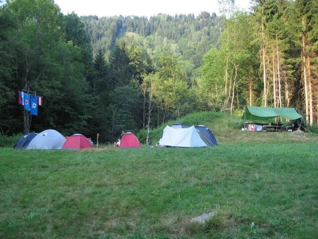 Skavtski tabor Zweibacherwiese 2006 - foto povečava