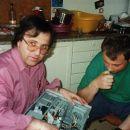 Z Boštjanom sva se lotila računalnika 2002