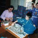 Priprava jaslic 2002