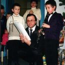 Aleksandrov 1. nastop s klarinetom