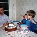 Aleksander in David s prvimi bobni 1994