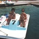 Družina v Portorožu 1994