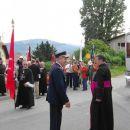 G. kanonik in stolni župnik dr. Stanko Lipovšek je skrbel za ceremonial.