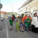 Mladi iz stolnice z kateheti in animatorji...