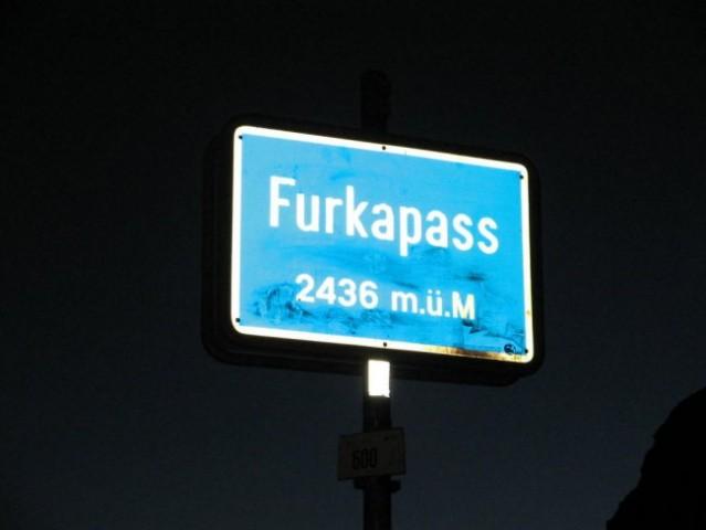 Najvišji prelaz, ki sva ga prevozila na najini poti v Švici