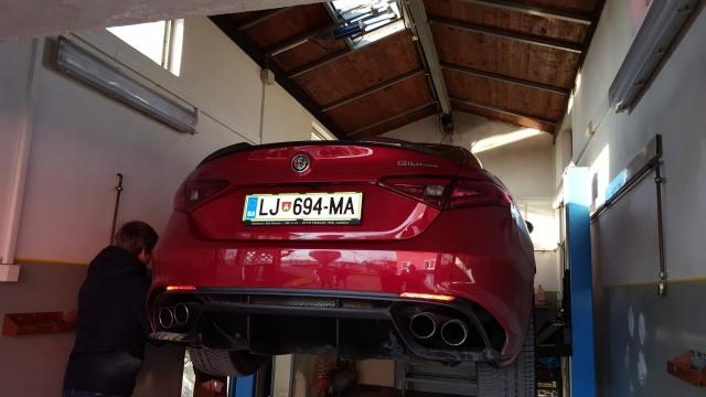 Alfa Romeo GIULIA QV 2,9 V6 (test) - foto