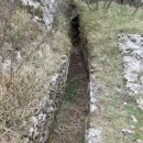 opuščen rimski vodovod do Trsta
